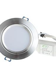 10W Потолочный светильник Утапливаемое крепление 20 SMD 5730 800 lm Тёплый белый / Холодный белый Декоративная AC 85-265 V