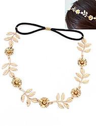 Mode Metall Blume europäischen Stil Stirnbänder