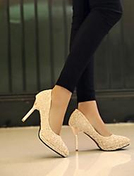 moda fina de salto alto sapatos de renda de Lobo mulheres
