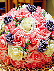 Beautiful Korean Style 30 Flowers Wedding Bouquet