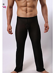 Men's Sexy Perspective Gauze Trousers