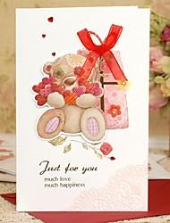 Convites de casamento Cartões de Obrigado Dobrado de Lado Não personalizado