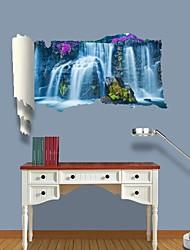 3d Stickers muraux stickers muraux, cascade décor vinyle stickers muraux