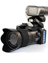 """3 """"5.0mp ecranul LCD cmostft camerele digitale 21x zoom optic aparate foto SLR digitale cu far eșuat pentru utilizare negru în aer liber"""