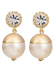 Yue Women's Causual Fashion Ball Earrings