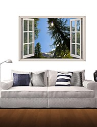 3D Wall Stickers Wall Decals, The Pine Tree Decor Vinyl Wall Stickers