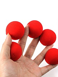 Magic Props - Red Sponge Balls(5 PCS)