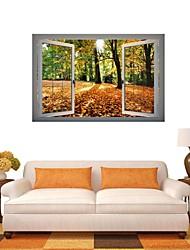 3d stickers muraux stickers muraux, romantique paysage décor muraux en vinyle autocollants