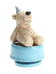 Looking-at-the-Sky Animal Pattern Revolving Music Box Toys(Random Pattern)