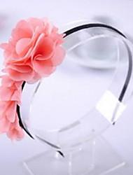 Girl's Chiffon Flower Headband