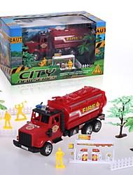 Hight auto giocattolo di qualità per i bambini del camion attrito impostato con strumenti il tema antincendio 20142-9