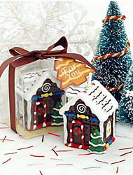 casa artesanal de galletas creativo vela