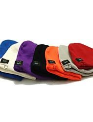 mz013 música inalámbrica sombrero elegante caliente con dispositivo bluetooth (colores surtidos)