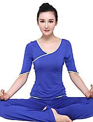 media manga elegante yoga juego de la aptitud
