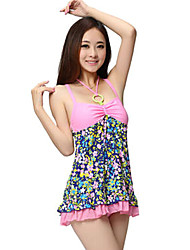 YINGFA Women's Strap Polyester Spandex Padded Fashion One-piece Swimwear