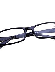 [lentes livres] retângulo acetato de óculos de leitura clássico cheio-rim