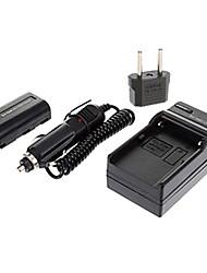 ismartdigi-samsung LSM80 (800mAh, 7.4V) câmera bateria + EU Plug + carregador de carro para Samsung VP-352i 453i d353i dc-3563i lsm60