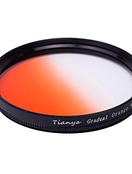 tianya® 67mm Kreis graduierte Orange-Filter für Nikon D7100 D7000 18-105 18-140 canon 700d 600d 18-135