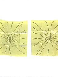Broken Glass Tricky Toy - Light Yellow + Black (2 PCS)