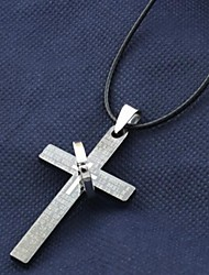 Men's Cross Pendant Necklace Christmas Gifts