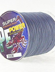 300M / 330 Yards PE Braided Line / Dyneema / Superline Fishing Line Dark Gray 28LB / 18LB / 10LB / 12LB / 15LB / 22LB