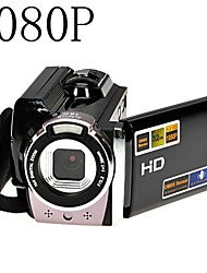 1080p digitalt videokamera i full HD 16x digital zoom dv kamera kit svart