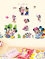 stickers muraux Stickers muraux, bande dessinée Mickey pvc stickers muraux