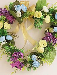 forme de coeur élégante décoration pendaison de fleurs