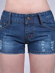 Women's Casual Jeans Shorts Pants