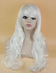 30 Inch Long Wave Fashion Heat Resistant Fiber Synthetic Cosplay Wig