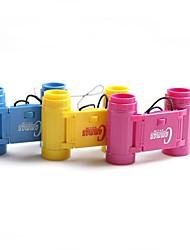 Gift Groomsman 2.5 x 26 Magnification Binocular Telescope Kid Child Toy Gift  with Neck Tie Strap (Random Color)
