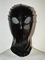 Yeux avec capuche noir transparent