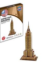 giocattoli - 3d puzzle famoso mondo dell'architettura miniera statale serie Impero costruzione di puzzle di carta