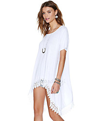 Canary Women's Solid Color Causual Fashion Loose Fit T-shirt