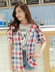 Women's Shirt , Cotton ½ Length Sleeve