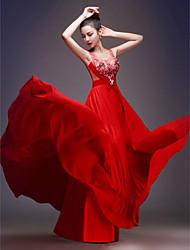 Vestido de Boda - Como la imagen (el Color y Estilo pueden variar según su monitor) Corte Sirena Hasta el Suelo - Escote en U