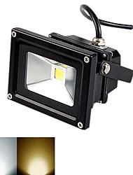 Focos de LED 10W 980 LM 3000-3200K/6000-6500K K Branco Quente / Branco Frio 1 COB AC 85-265 V