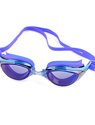 Swimming Anti-Fog Plastic Oval Classic Goggles