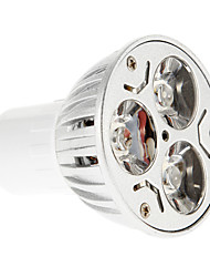 6W GU10 Точечное LED освещение 3 15-20/30-35 lm Красный / Синий AC 85-265 V 1 шт.