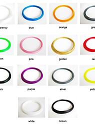 YAYA 3D Printer 1.75mm Mixed Color HIPS Filament (14 PCS*30g)