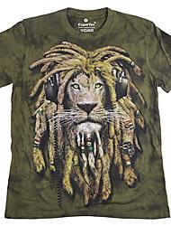récents impression 3d animal manches courtes T-shirts des hommes mumugeorge