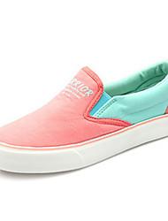zapatos infantiles consuelan talón plano de las zapatillas de deporte de moda de tela zapatos más colores disponibles