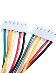 DIY XH2.54 - 6P 20cm Wire Cable (2pcs)