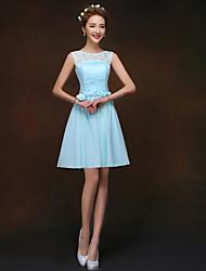 A-Lijn/Prinses Scoop Bruidsmeisjesjurk Knie-Lengte