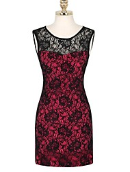 Sagetech®Women's Elegent Bodycon Lace Dress