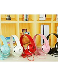 estilo y503 sobre a orelha dobrável auscultadores baixo para os telefones (cores sortidas)