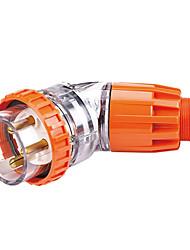 étanche connecteur mâle industrielle prise industrielle CE 250v 20a 2p + e de hennepps IP66 6h