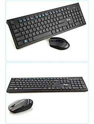 Combo de Teclado y Ratón para Gaming DANLU X100 Wireless 2.4GHz Mini 1600 con Teclas Chiclet