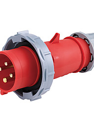 HENNEPPS HN1110 Waterproof Industrial Connector Male Industrial Plug CE 400V 50A 3P+E IP44 6H 10-16mm²
