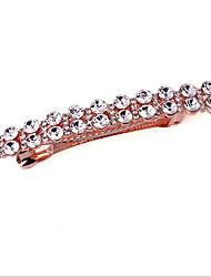 Yue Women's Causual Fashion Cubic Zirconia Hairpin